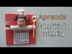 DIY - CALENDARIO COZINHEIRA / ELISANGELA MOTTA - YouTube