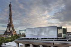 NOMIYA  TEMPORARY RESTAURANT ON THE ROOF OF THE « PALAIS DE TOKYO » MUSEUM  PARIGI / FRANCE / 2009  Paris #architecture