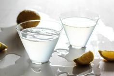 Sparkling lemon drop