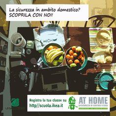 Come si vive in una casa sicura ed ecosostenibile?  Ikea at home: un progetto di IKEA e Legambiente http://scuola.ikea.it/home