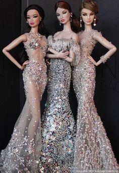 Best 12 Haute couture💃 by Salvabrani – – SkillOfKing. Barbie Gowns, Barbie Dress, Barbie Clothes, Fashion Royalty Dolls, Fashion Dolls, Vintage Barbie, Vintage Dolls, Beautiful Barbie Dolls, Pretty Dolls