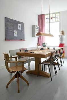love this table plus bench and chairs setup 229120699762177329_0htE9iQB_c