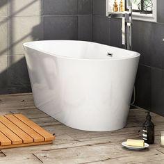 small freestanding soaking tub. designer 1500x750mm freestanding bath modern bathroom gloss white bathtub br267 small soaking tub f