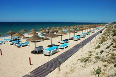 Praia do Ancão, Loulé. Algarve, Portugal