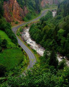 Serenity Way - Çamlıhemşin, Rize, Turkey Where Did It Go, Visit Turkey, Turkey Travel, Park Hotel, I Want To Travel, Pathways, Wonderful Places, Travel Inspiration, Natural Beauty