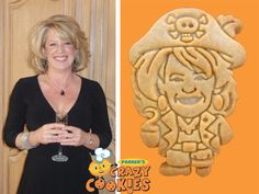 Fun Halloween Party Ideas - Custom Cookies - Pirate Cookies - Edible Favors - #Fun #Halloween #Ideas
