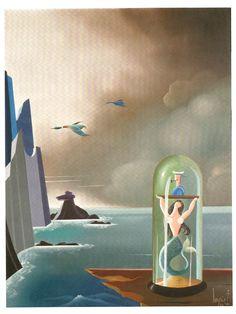Sin título. Urbano Lugrís Max Ernst, Rene Magritte, Surrealism Painting, Spanish Painters, Famous Artists, Celtic, People, Arts Plastiques, Surrealism