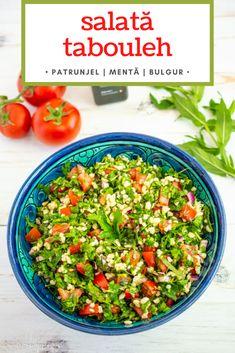 Healthy Salad Recipes, Keto Recipes, Cooking Recipes, Romanian Food, Buddha Bowl, Pasta Salad, Salsa, Yummy Food, Ethnic Recipes