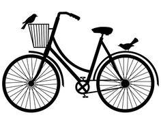 Bike Stencils - ClipArt Best