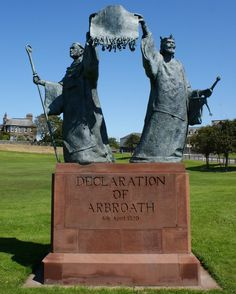 The declaration was a letter written in Latin from the nobles of Scotland and sent to Pope John XXII, asserting the Scottish nation's right and determination to resist the ambitions of the England's Edward I to subjugate their realm.