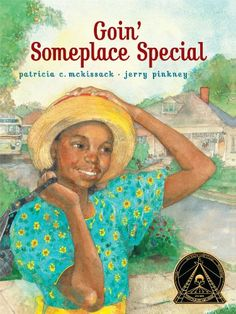 Goin' Someplace Special by Patricia C. McKissack http://www.amazon.com/dp/B00EWWLKR4/ref=cm_sw_r_pi_dp_xfGIvb17GR5JA