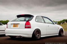 Honda Civic Type R EK9 | B18, Championship White, Rota Grid V, JDM