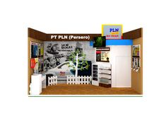Desain Booth Stand Pameran Intergrity Expo 2014 – PT PLN (Persero)