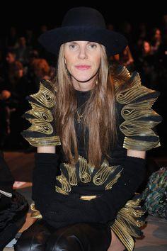Anna dello Russo Photo - Iceberg - Backstage & Front Row: Milan Fashion Week Womenswear Autumn/Winter 2011