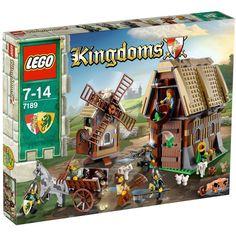 LEGO Kingdoms - Mill Village Raid 7189 NEW in sealed box | eBay