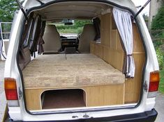 Nissan Vanette Camper by small camper conversions, via Flickr