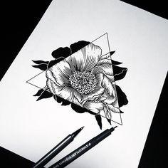 Tatto fleur - magnifique - #tropbeau #tatto - Cherry