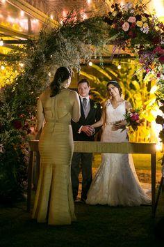 Casamento rústico - Cerimônia - Foto: Marina Fava