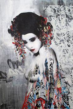 HUSH, Sirens, Metro Gallery, Melbourne 2012 D by Hush..., via Flickr