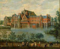 """""""Castillo de Tervuren en Bruselas"""" Autor: Jan Brueghel """"de Velours"""" 1625 Ubicación Actual: Museo del Prado, Madrid (España)"""