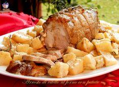 Arrosto di vitello al forno con patate-ricetta secondi-golosofia
