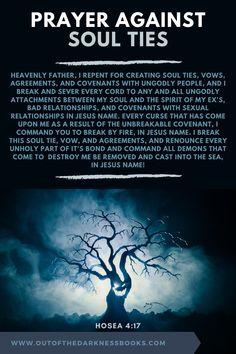 Short Prayers, Good Prayers, Bible Prayers, Soul Ties Prayer, Prayer For Friendship, Prayer Before Sleep, What Is A Soul, How To Pray Effectively, Relationship Prayer