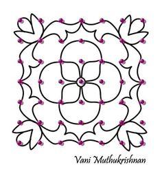 Dot Kolam Designs