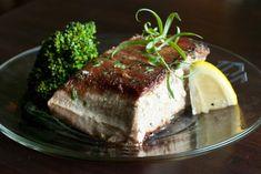 Tuna Steaks, Tuna Recipes, Seafood, Paleo, Lemon, Butter, Gluten Free, Organic, Meat