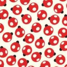 oops a daisy - ladybugs in cream