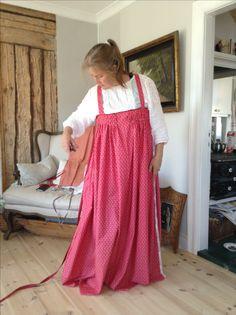 Feresi/Sarafaani klänning kansallispuvut mönster från karelen, jag sytt idag.