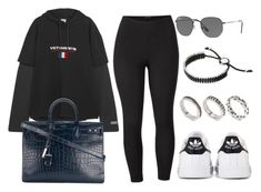 """#13835"" by vany-alvarado ❤ liked on Polyvore featuring Venus, Vetements, adidas, Yves Saint Laurent, Ray-Ban, Links of London, ASOS and plus size clothing"