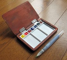 wood / watercolor sketch kits