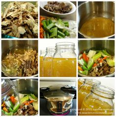 Bone Broth: Can Food Be Medicine? -- Chicken Bone Broth Recipe @ Healthy Living How To Canning Recipes, Paleo Recipes, Real Food Recipes, Soup Recipes, Beef Bone Broth, Paleo Soup, Pressure Cooker Recipes, Soup And Salad, Soups And Stews