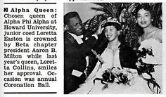 Loretta Easton is Crowned Quees of Alpha Phi Alpha Fratern… | Flickr