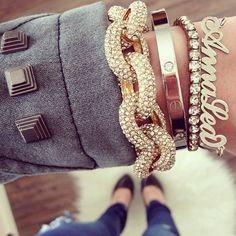 Fashion Cartier love bracelets replica #Cartier_love_bracelets #jewelry #fashion