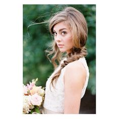 Another amazing shot from We can't enough of this! Portra Film, Fine Art Photography, Amanda, Flower Girl Dresses, Long Hair Styles, Bride, Wedding Dresses, Amazing, Bridal Hairstyle