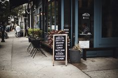 These restaurants are perfect for early meetings or leisurely meals when you& playing hooky from work. Lower East Side Nyc, Cafe New York, Ny Restaurants, New Things To Try, Autumn In New York, Map Of New York, Brunch Spots, Cool Cafe, Best Breakfast