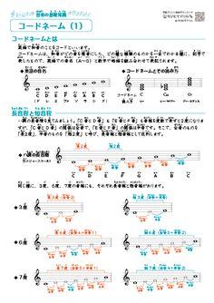 音楽の教材プリント(音名・音符・休符・記号・調号・音程・音階・和音・コードネーム) 無料ダウンロード・印刷|ちびむすドリル【小学生】 Piano Music, Art Music, Sheet Music, Japanese Funny, Simple Life Hacks, Thing 1, Homeschool, Study, Teaching