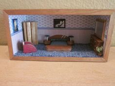 Dollhouse-art-deco-style-bedroom-suite-roombox-decorated-and-furnished