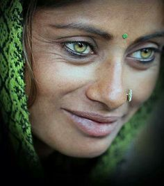 .Stunning face and incredible eyes.