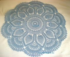 My Experiments with Needle n Thread: Pineapple Doily Again!!