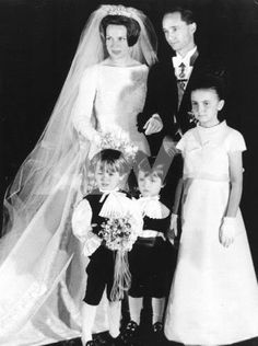 The Royal Calendar: Princess Irene of the Netherlands and Prince Hugo Carlos of Bourbon-Parma, 1964