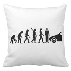 Evolution driving instructor throw pillow