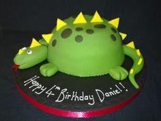 Dino cake!