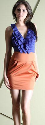 $36 Orange Royal Dress  #sassy #clemson  http://on.fb.me/zgxwYR
