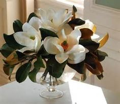 magnolia table centerpiece - Bing images