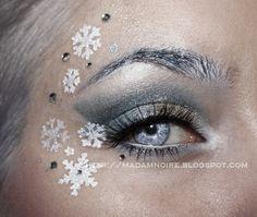 Snow queen http://www.makeupbee.com/look_Snow-queen_30681