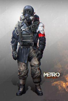 The Art of Metro 2033 Last Light 20