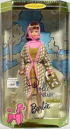 Poodle Parade Barbie (1996 reproduction)