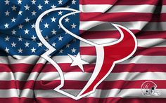 Houston texan logo | ... Houston Texans Logo On USA Flag 1920x1200 WIDE NFL / Houston Texans